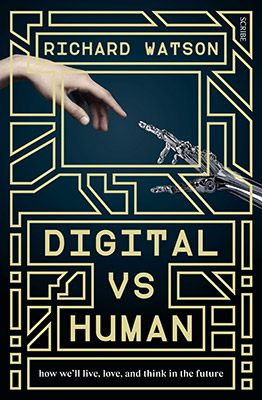 Digital vs Human book cover