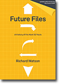 Aus/NZ cover of Future Files book