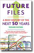 UK cover of Future Files book